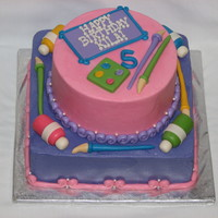An Art Cake For A Princess Tfl An art cake for a princess. TFL!
