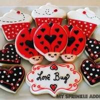 Love Bug Sugar Cookies!