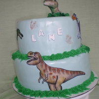 Dino Dan I made this cake for a 2yr old. I was given this picture of someone whom already had made the cake and was asked to duplicate it. I made...