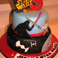 Miles Star Wars Another Star Wars cake. Thanks for all the inspiration CCers!