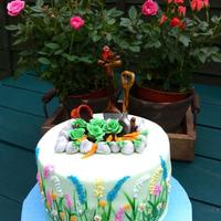 "Birthday Cake Made For My Uncle To Celebrate His 80Th Birthday But Left The Eight Oh Off And Named The Cake A Long And Enjoyable Gardeni Birthday cake made for my Uncle to celebrate his 80th Birthday, but left the ""eight oh"" off and named the cake ""A long and..."