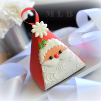 3D Santa Treat Box Cookie