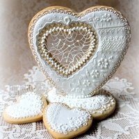 Wedding Present Cookies