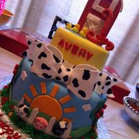 Farm Animal 1St Bday