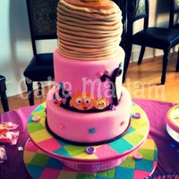 Pancake Baby Shower Cake The Mommy To Be Craved Pancakes Her Entire Pregnancy She Was A Late Night Bartender And Even When She Wouldnt  Pancake Baby Shower cake! The Mommy-to-Be craved pancakes her entire pregnancy! She was a late night bartender, and even when she wouldn&#...