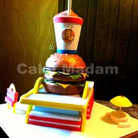 Mcdonalds Cake This Cake Was For A Man Who Owns 75 Mcdonalds Locations And Was Also Celebrating His 75Th Birthday Happy Birthday Fred  McDonald's cake!!! This cake was for a man who owns 75 McDonald's locations and was also celebrating his 75th birthday! Happy...