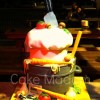 I Was Commisioned To Create A Chef Cake For Not Only One Of The Best Chefs In Memphis But Also A Very Dear Friend Of Mine Happy 40Th Joh  I was commisioned to create a chef cake for, not only one of the best chefs in Memphis, but also a very dear friend of mine. Happy 40th...