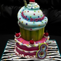 This Was My 3Rd Cake I Made For Icing Smiles It Was For A Little Girl Turning 8 The Design Is Completely Inspired By The Famous Andreas S This was my 3rd cake I made for Icing Smiles. It was for a little girl turning 8. The design is completely inspired by the famous Andrea&#...