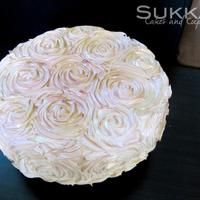Roses Cake Rose pipping