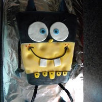 Spongebob Batman This was made for a combo birthday; one little boy liked Spongebob while the other liked Batman...so I combined the two. I regret that I...