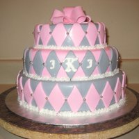 Pink And Gray Bridal Shower