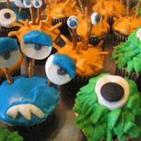Halloween Cuppies Monster Cuppies!