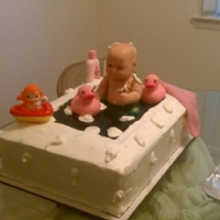 Loli Baby Shower Cake