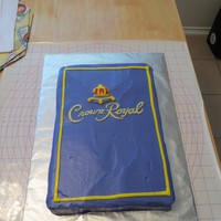 Crown Royal Cake An italian cream cake frosted in a cream cheese frosting
