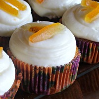 Ginger Carrot Cupcakes With Orange Cream Cheese Frosting Ginger Carrot Cupcakes with Orange Cream Cheese Frosting
