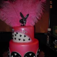 Playboy Bunny Birthday Cake   *