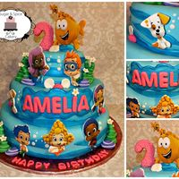 Such A Fun Cake To Make For A Sweet 2Nd Birthday Such a fun cake to make for a sweet 2nd Birthday!