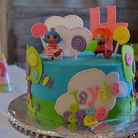 Lalaloopsy Cake For My 4 Yr Old Daughter Lalaloopsy cake for my 4 yr old daughter