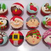 Christmas Cupcakes For Web