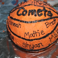 Basketball Team Ball