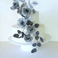 Black And Grey Roses Black and Grey Roses