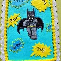 Lego Batman Lego Batman Cookie Cake.