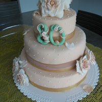Wedding Cake 80 Anni 001Jpg