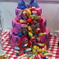 Candy Cake This is a display cake I did for the local lolly/candy shop. One of my favourite cakes I have done so far. I really have to start taking...