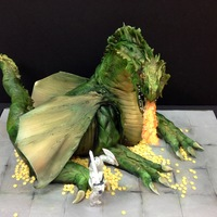 Sculpted Dragon Cake Sculpted Dragon Cake