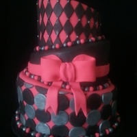 Topsy Turvy Cake! I had so much fun making this topsy turvy cake! I used ganache underneath to get the sharp edges. I hope you like it! This is my first...