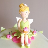 Tinkerbell Themed Cake