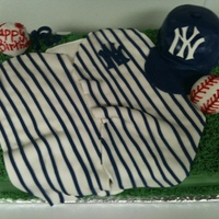 Yankee Birthday Cake Yankee Birthday Cake -