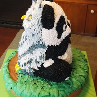 Beary Owly Birthday! Our Twins 14Th Birthday Cake.