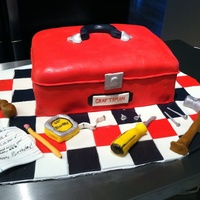 Tool Box alot of inspiration here on cake central! thanks everyone! My first time making and working with modeling chocolate! All tools were...