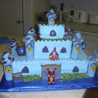 My First Castle I make this one for a co-worker son who turn 5. I like it the way it turn out...
