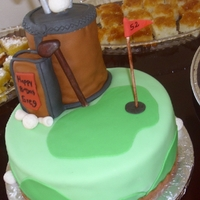 My Fist Golf Cake