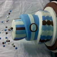 Its A Boy Baby boy shower cake