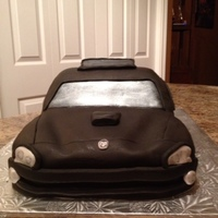 My First Car Cake!