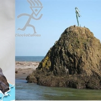 Lady On The Rock Lady on the Rock is a famous bronze sculpture at the heads of the Whakatane NZ harbour, was asked to recreate in sugarpaste for Whakatane...
