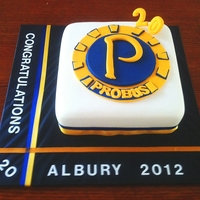 Probus   To celebrate the 20th anniversary of the club in Albury NSW Australia