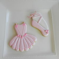 Ballerina Cookies Ballerina Cookies for a Baby Shower