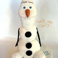 Olaf Cake! All edible, buttercream...TFL