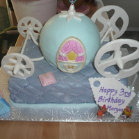Cinderella's Carriage This was my Daughters 3rd Birthday cake.
