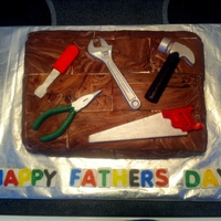 Fathers Day Tool Cake