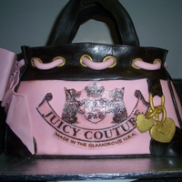 Juicy Couture Daydreamer Handbag Cake