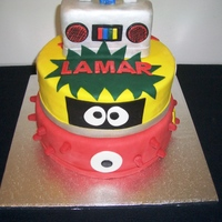 Lamar's Yo Gabba Gabba Cake A friend saw a picture of MissCallie's Yo Gabba Gabba cake online and asked me to replicate it for a birthday party. Thank you,...