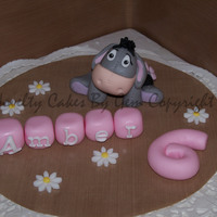 Eeyore Cake Topper I make many many cake toppers and this little chappy is always a favourite