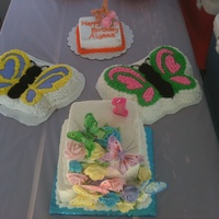 1St Birthday--Butterflies