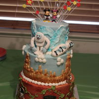 Icing Smiles Birthday Cake  Disneyland themed cake that I donated for Icing Smiles. His 3-favorite rides are Pirates of the Caribbean, Big Thunder Railroad, and the...