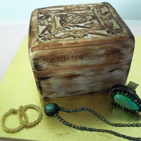 A Copy Of A Samantha Wills Jewelry Box Complete With A Ring From Her Range The Original Is A Hand Carved Wooden Box Hand Painted Fondan A copy of a Samantha Wills jewelry box complete with a ring from her range . The original is a hand carved wooden box. Hand Painted fondant...